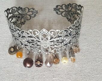 Charm Cuff bracelet