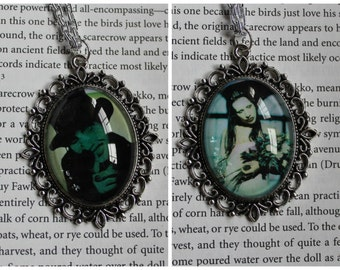 Marilyn Manson vintage style cameo necklaces