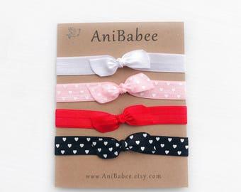Tie knot baby headband, Baby Headband, Top Knot baby headbands, baby headband set, Baby Bow headband, Newborn Headband, Baby Accessories