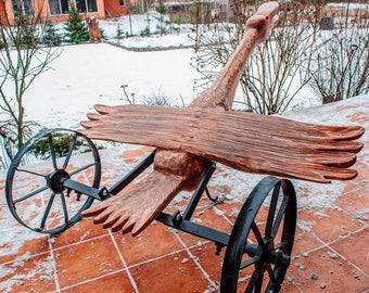 The Bird On Wheels