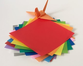 "Origami Paper Sheets - Colored Paper Assortment - 280 3"" Sheets"