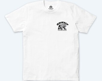 WALKING GRIZZLY V2 T-SHIRT (White)