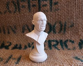 Voldemort image appeared bust plastic bust Harry Potter