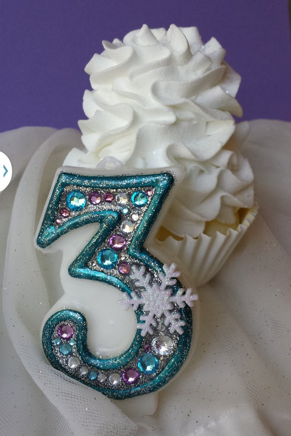 frozen birthday candle keepsale candle anniversary candle