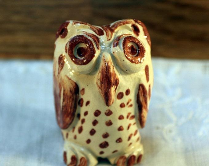 Twitter Miniature Pottery owl, Clay, Ceramics, Miniature, Love owls, Cute Owl, Birds of Prey, Feathers, Bird, Ceramic Sculpture.