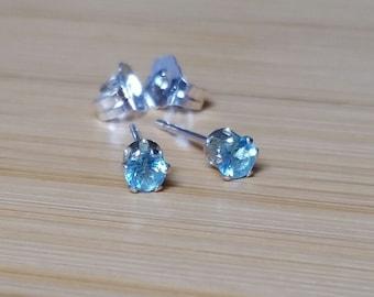 Apatite 3mm earrings