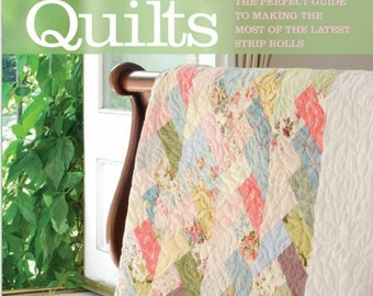 Sale!!! JELLY ROLL QUILTS : By Pam and Nicky Lintott  - The Perfect Guide to making the Most of Strip Rolls     New!