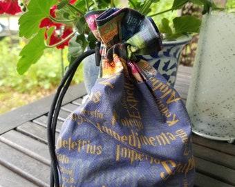 Harry Potter Ravenclaw spells drawstring bag