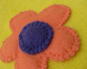 Flower Baby Blanket - Yellow Baby Blanket - Flower Blanket - Baby Girl Blanket - Baby Shower Gift - Baby Girl - Girl Shower - READY TO SHIP