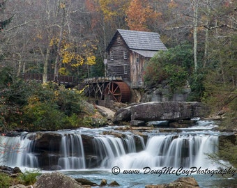 Glade Creek Grist Mill in Babcock State Park, WV #7388