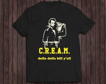 Wu Tang CREAM shirt, Odb shirt, Lincoln shirt