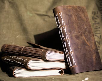 Handmade Leather Journal - Large