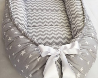 READY to SHIP!SALE! double-sided baby nest newborn babynest, baby bed, cot, snuggle nest, baby nest bed, baby sleep nest, babygirl, baby boy