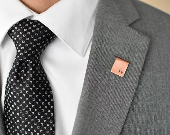 Personalized Copper Lapel Pin