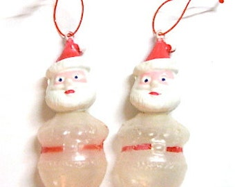 Vintage Santa Candy Container Ornaments Singapore 1950
