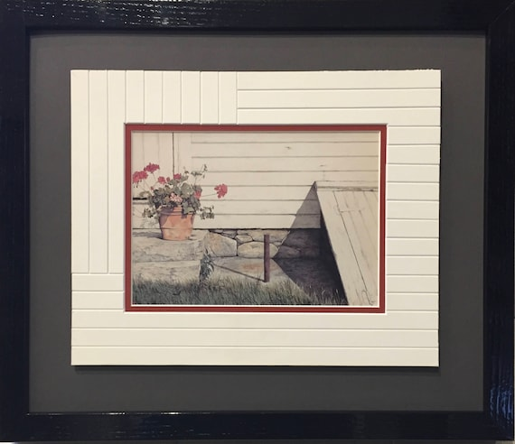 8 x 10  Country - Framed ArtCard