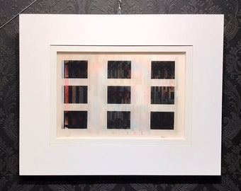 Yaacov AGAM Agamograph from San Diego Museum, Signed Numbered COA