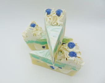 Pearberry Soap Cake Slice