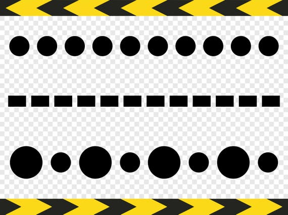 Dotted Line Svg Clipart Cut Cuttable Cricut Designs Silhouette