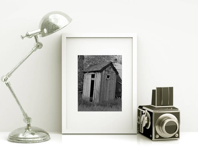 Funny Bathroom Print / Modern Farmhouse Decor / Bathroom Wall Art / Framed Powder Room Art Prints / Rustic Home Decor / Funny Bathroom Art