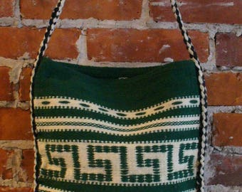 Vintage Greek  Festival Shoulder  Bag
