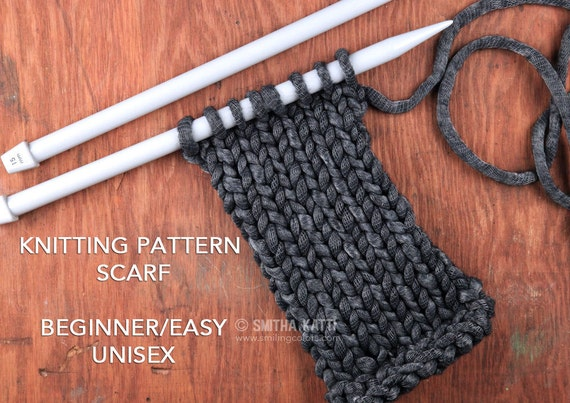 Knitting Pattern Scarf Easy Knitting Patterns Free Knitting