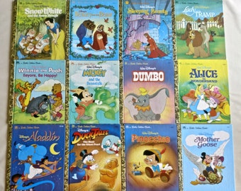 13 Little Golden Books