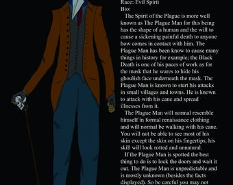 The Plague Man Bio