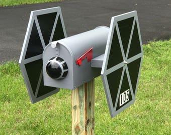 Star Wars Tie Fighter Mailbox