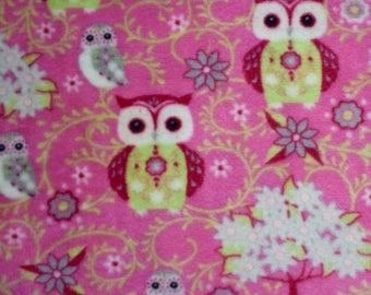Plush owls pink