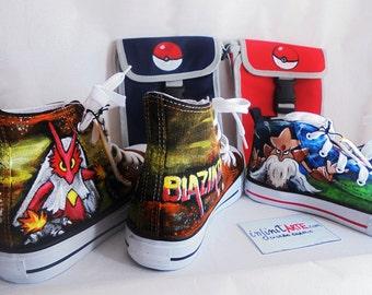 Pokemon Shoes Blaziken / Alakazam / Pikachu / Eevee / Charmander / Charizard / Squirtle ...