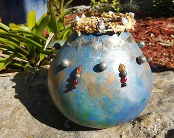 Fine Art Gourd Seaside Themed