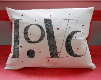 Love Valentine Pillow case