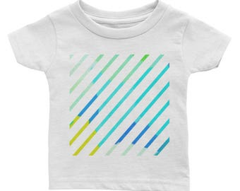 Graphic Lines Infant Tee