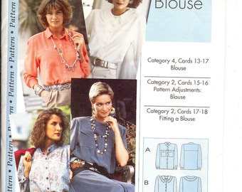 Sewing Step by Step Pattern Blouse   ID236