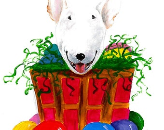 "Original Art--""Easter Bully""--  Acrylic Painting"
