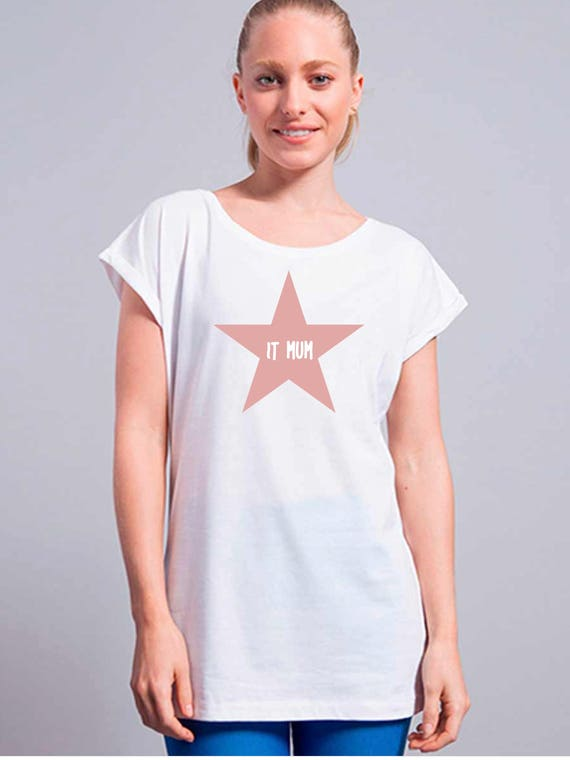 Women tee IT MUM in a STAR