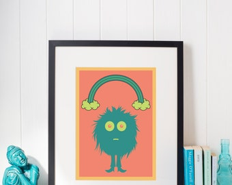 Little Monster, Poster Wall Art
