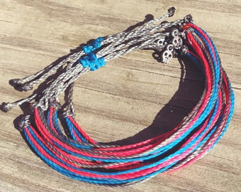 Stacking Bracelet - Friendship Bracelets - Colorful Jewelry - Waterproof Bracelets - Bohemian Jewelry - Beach Bohemian