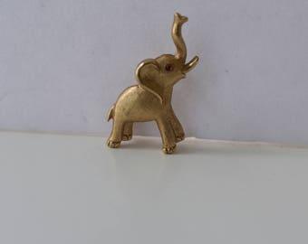 Crown Trifari Elephant Brooch Republican GOP
