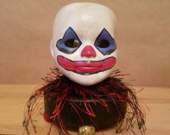 Ceramic Clown doll head night light