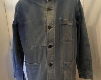 french moleskin workwear jacket 60s