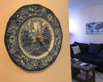 Vintage Ceramic Clock Plate