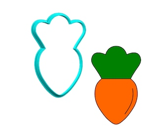 Carrot Cookie Cutter
