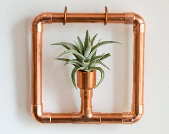 Copper Hanging Planter