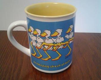 Ducktales Mug By John Baron 1985 Enesco