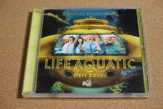 The Life Aquatic With Steve Zissou (Original Soundtrack) by Various Artists Vintage CD Compact Disc