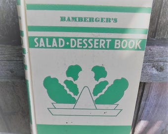Mabel Claire Salad- Dessert Cook Book Bamberger's 1933