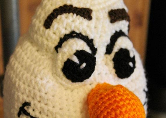 Amigurumi Patterns Olaf : Olaf patrón gratis ipunts ganchillo crochet amigurumi muñecas a