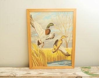 PBN Ducks Painting